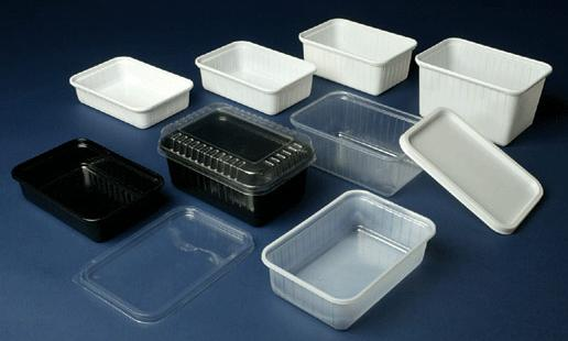 Rechthoekige kunststof verpakkingen for Plastic verpakkingen